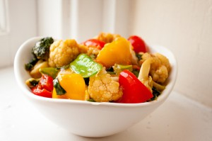 Coconut Curried Vegetables